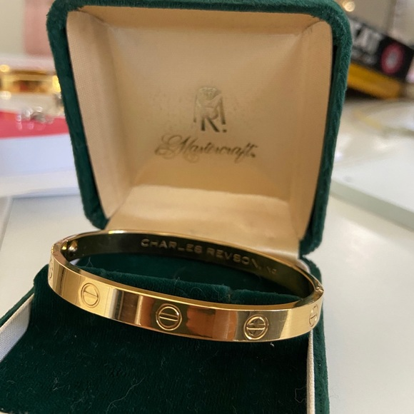 Cartier Charles Revson Love Bracelet 1970